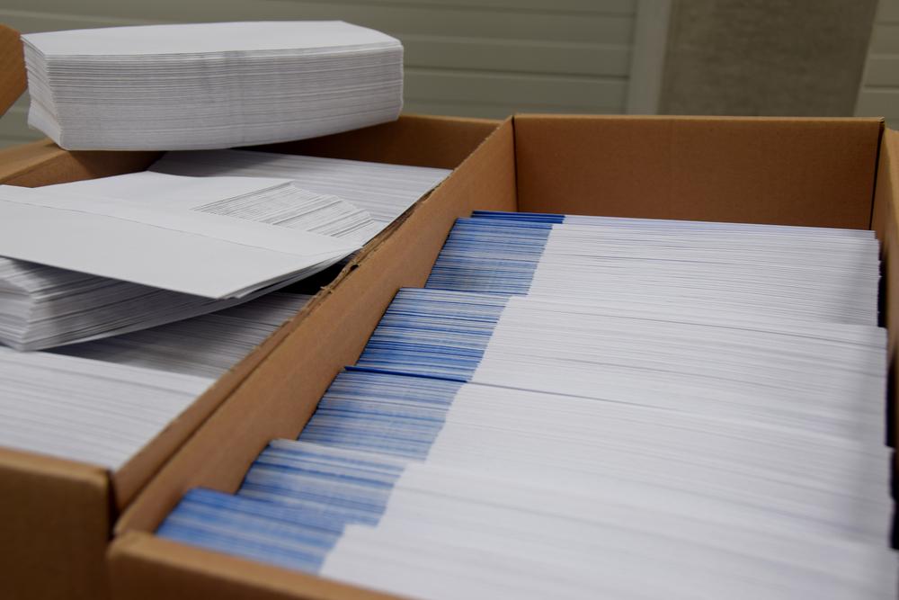 Mise sous pli mailing postal - Copitexte